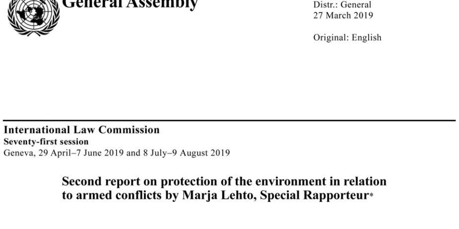 Environmental Research Proposal Topics
