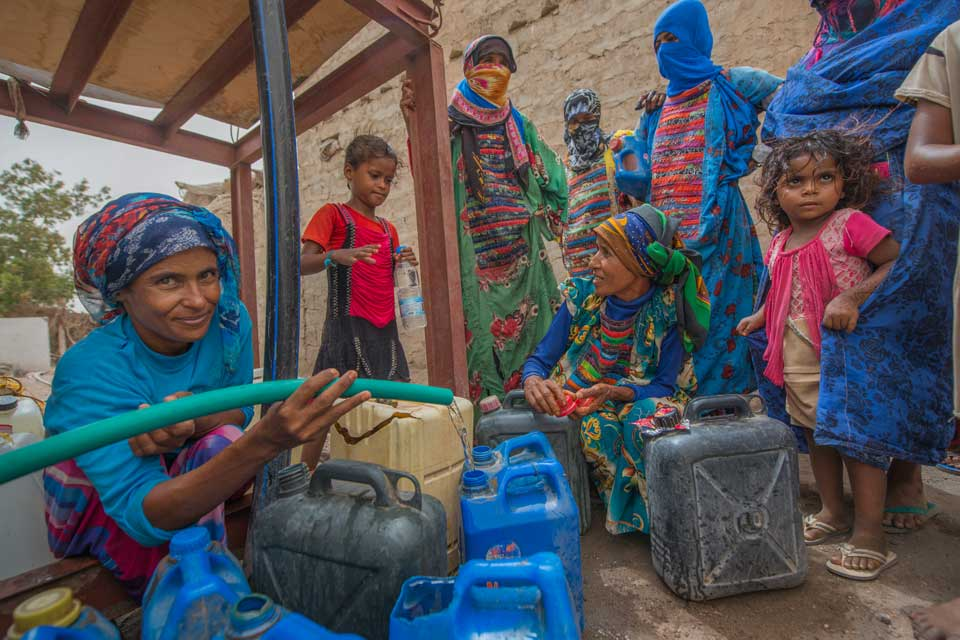 International Women S Day 2020 Women War And Water In Yemen Ceobs